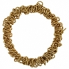 Dazzle-it Chain Link Bracelet 18cm Gold